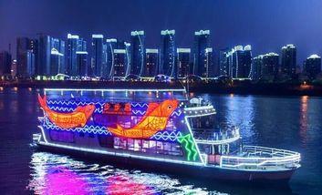 【高新区】步步高游船(东堤旅游码头)20:30船票亲子票2大2小-美团