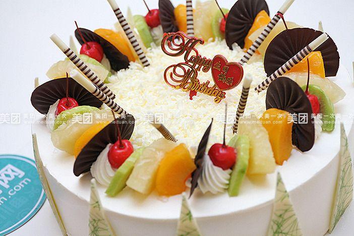 欧式风情蛋糕图片