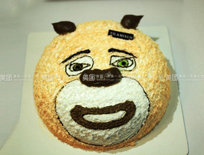 45千克 熊二 kitty 商家介绍 翻糖diy蛋糕房