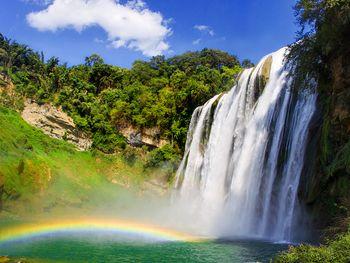 【贵阳出发】黄果树风景名胜区、陡坡塘瀑布、天星桥景区1日跟团游*旅游圣地  摄影天堂-美团