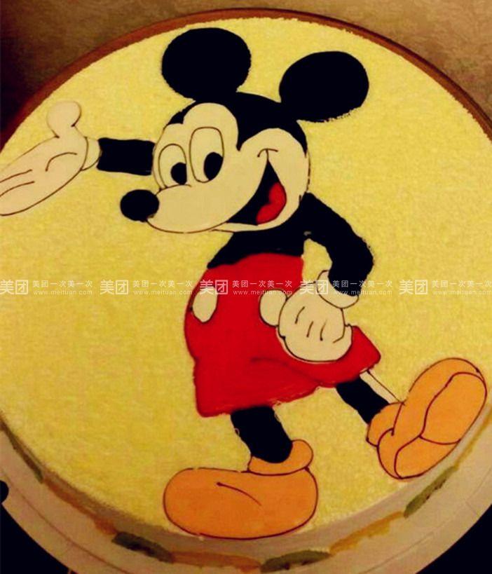 小黄人   米老鼠   熊二   规格   蛋糕类型 8英寸 圆形 纯手工制作