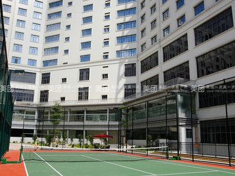 荣荣大酒店网球场