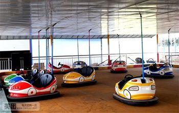 【海陵区】鱼米香生态乐园游乐场+碰碰车+转马+超级转椅+体能乐园门票-美团