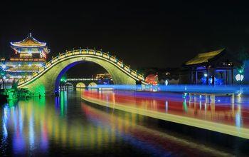 【鼓楼区】大宋御河日游往返程船票(成人票)-美团