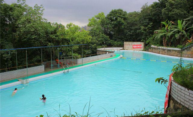 龙凤山水上乐园龙凤山游泳池15次卡,仅售150元!