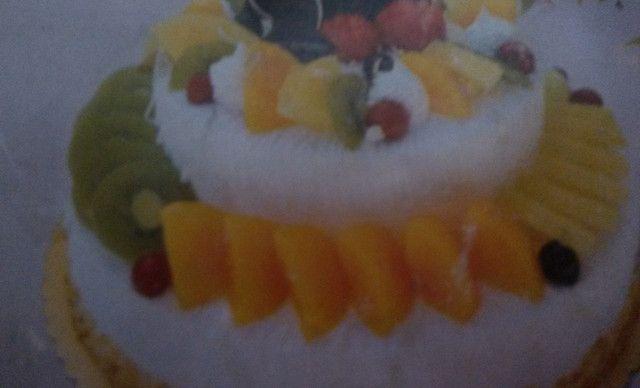 :长沙今日团购:【诗麦格蛋糕】双层水果蛋糕1,约10英寸,