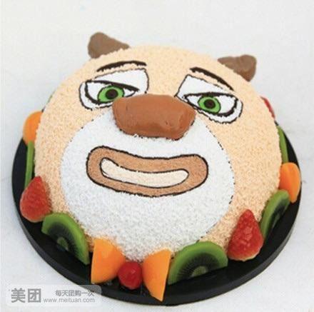 橡皮泥蛋糕手工制作图片幼儿