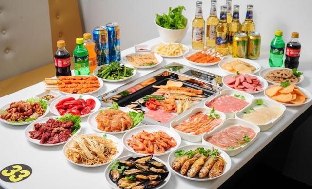 :长沙今日团购:【汉釜宫烧烤自助餐厅】精品3人晚餐,提供免费WiFi