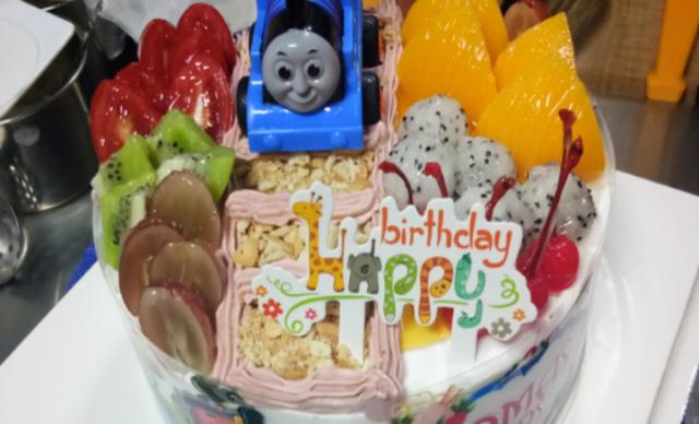:长沙今日团购:【m伊米诺蛋糕】托马斯火车1个,约8寸,圆
