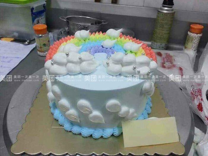 龙岗中心城 小盒子diy烘培店   1磅蛋糕 卡通饼干规格:约1 磅 1,圆形