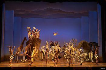 【迪士尼】迪士尼百老汇《狮子王》音乐剧 19:00场-CA区域座位票-美团