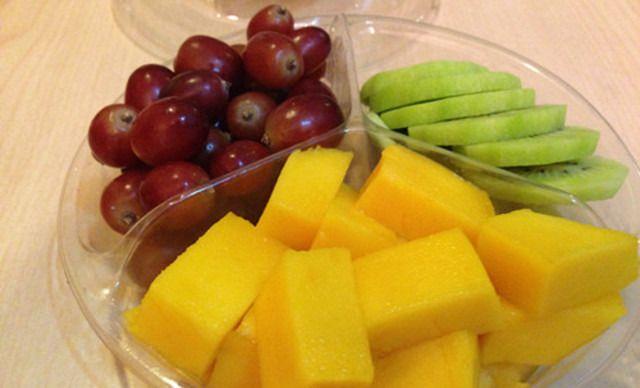 【E乐鲜果】绿心奇异果+芒果+小红提1次,提供