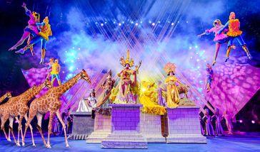 【其它】广州长隆国际大马戏暑假/平日/周末20:00场次+长隆飞鸟乐园成人票-美团
