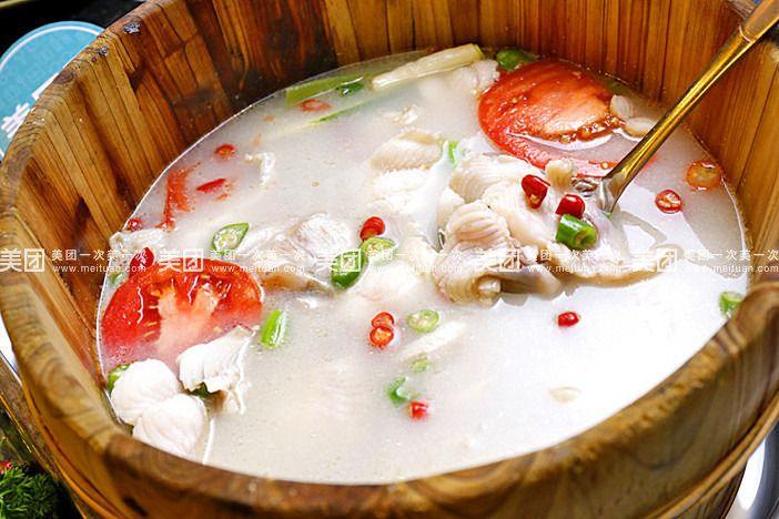 【成都天天吃木桶鱼团购】天天吃木桶鱼7-8人餐团购