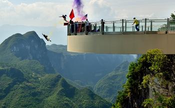 【西安出发】张飞庙、龙缸云端廊桥、三峡梯城等3日跟团游-美团