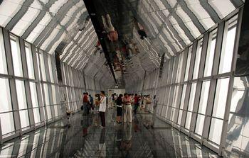 【陆家嘴】上海环球金融中心观光厅门票(亲子票1大1小)-美团