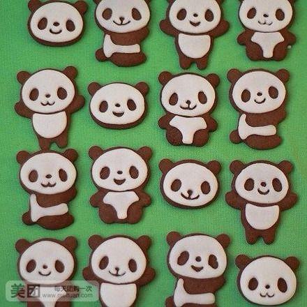 熊猫粘土制作图片