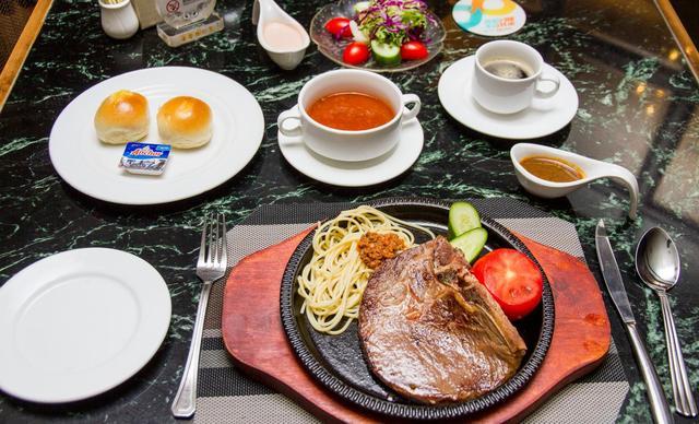 【湖南富丽华大酒店皇族西餐厅】西餐单人套餐B,提供免费WiFi