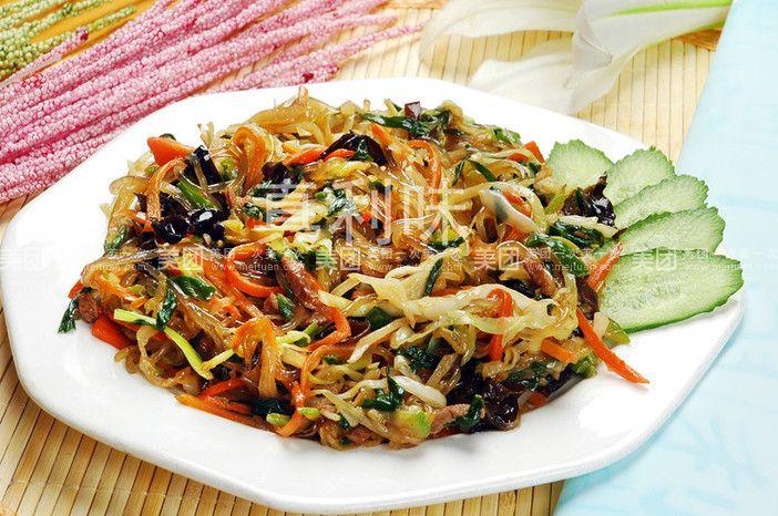 韩式炒杂菜