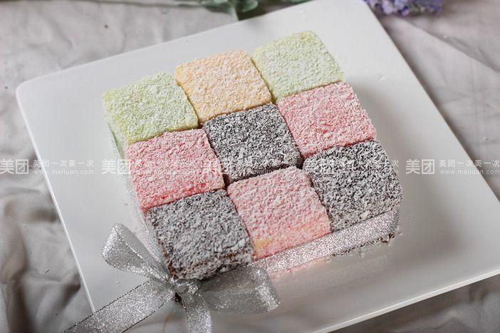 团购5.5寸林明顿蛋糕图片