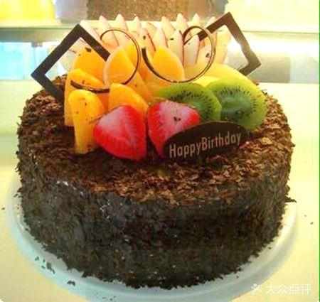 黑色巧克力森林蛋糕