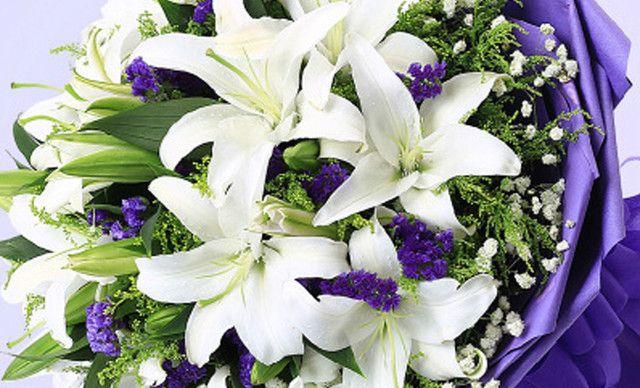花束包装方法图解-扇形花束包装图解-韩国花束包装