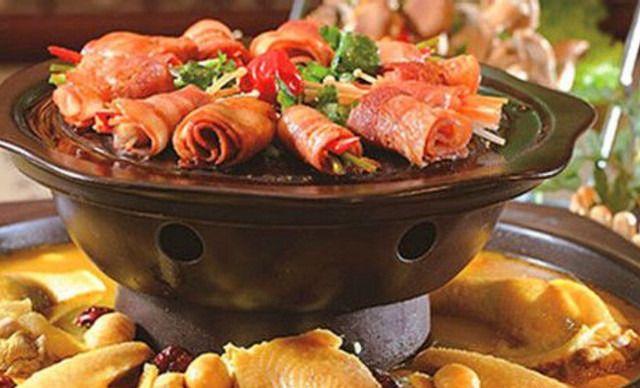 汉食坊火锅烤肉主题餐厅2人餐,仅售78元!