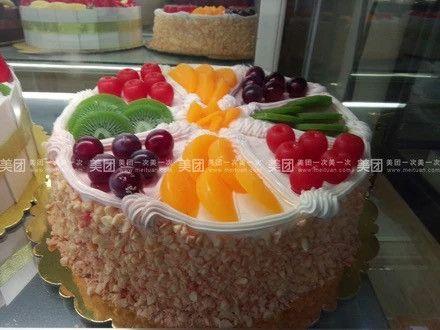爱上私家生日蛋糕外送-美团