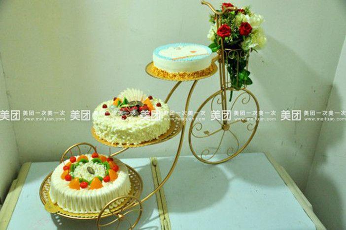 【亳州米苏蛋糕店团购】米苏蛋糕店自行车架子蛋糕