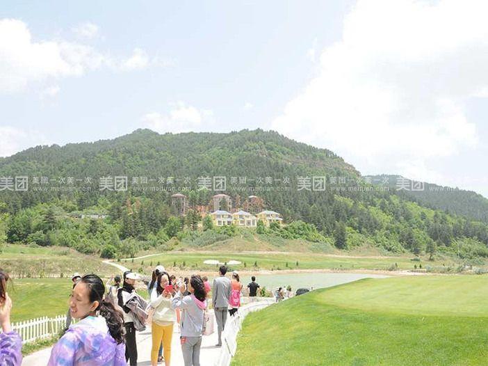 风景秀丽,空气清新,10:10抵达后参观吕梁山国际