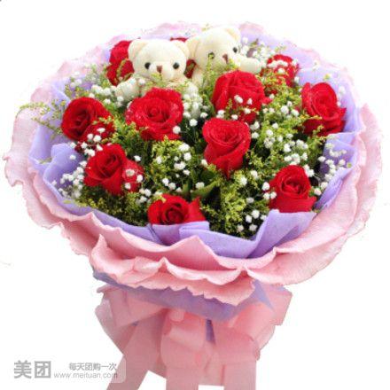 步骤介绍 图解玫瑰花彩带
