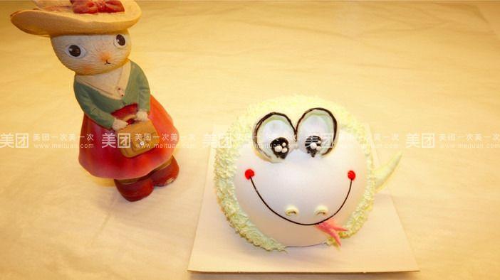 稀奶油十二生肖卡通蛋糕