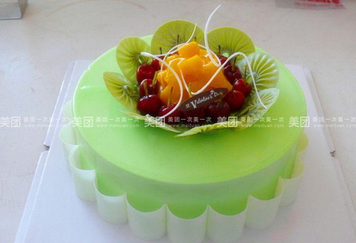 蛋糕 惠安县 惠兴街 永麦蛋糕坊   12寸蛋糕规格:约12 英寸 1,圆形