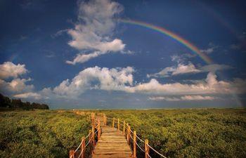 【银海区】金海湾红树林门票(亲子票2大2小)-美团
