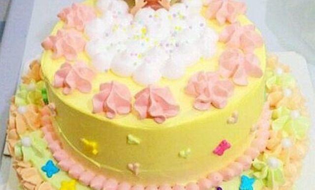 双层diy芭比娃娃蛋糕1个,约10英寸,圆图片