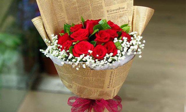 予人玫瑰11枝精品红玫瑰,仅售88元!价值196元的11枝精品红玫瑰1次,提供免费WiFi