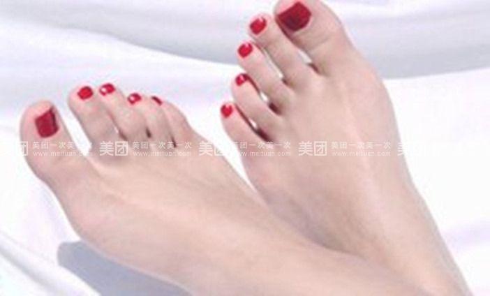美脚指甲教程步骤图片