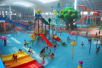 【海城市】绿中海温泉+水上乐园下午场套票(成人票)-美团