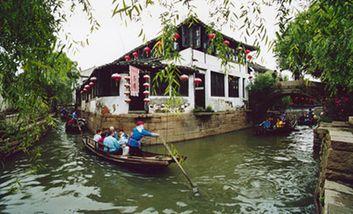 【扬州出发】西塘、乌镇东栅无自费2日跟团游*双古镇、商务酒店送早-美团