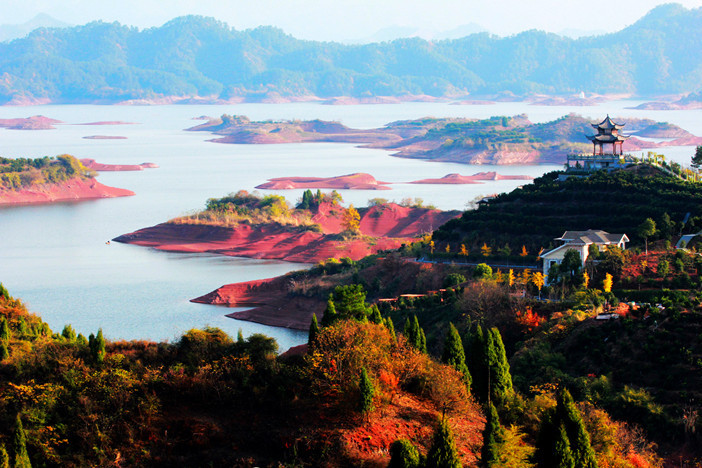 (参考时间)抵达【千岛湖风景区】:船游览