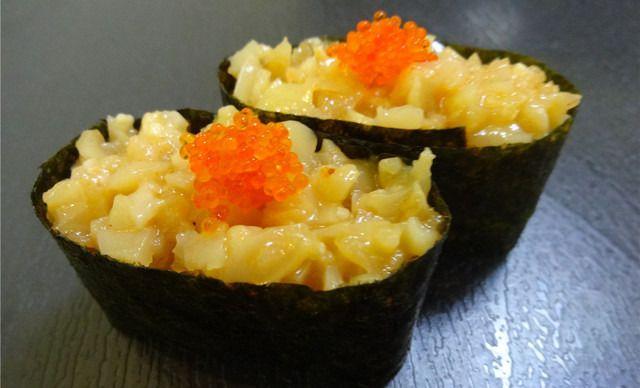 【千叶美味】味付螺肉美食1份,精致寿司,a美味多街成都的簇桥附近寿司那条图片