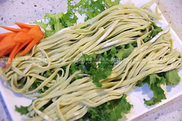 手工蔬菜面