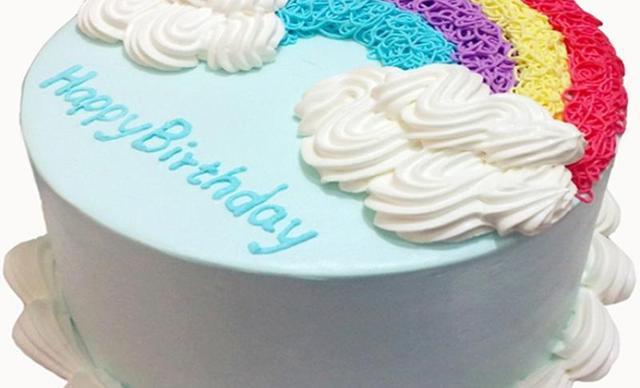 :长沙今日钱柜娱乐官网:【卡思唯特手工烘焙】手工蛋糕1个,约6英寸,圆形