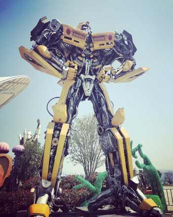 【东钱湖】东钱湖水上乐园机器人展门票成人票-美团