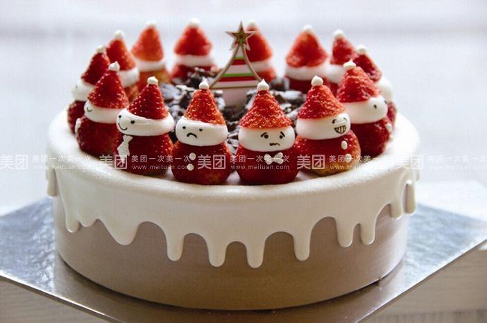 中心广场 田麦甜  冰淇淋蛋糕规格:约10 英寸 1,圆形/方形 水果蛋糕规