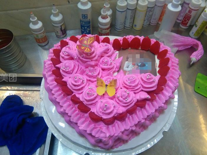 好运来蛋糕   价值: 128美团价:  情人蛋糕规格:约 12  寸 1,桃心