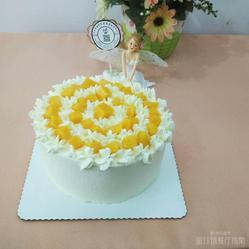 纯奶油蛋糕_芒果纯动物奶油蛋糕