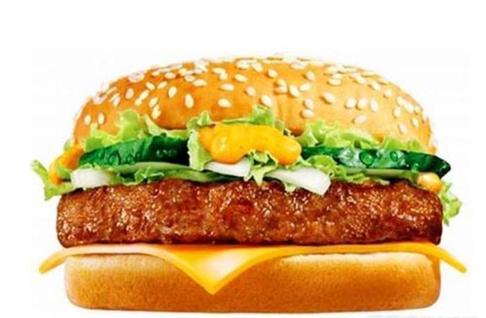 薯条汉堡创意画