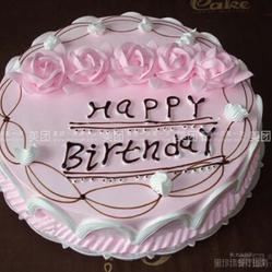 浪漫粉蛋糕