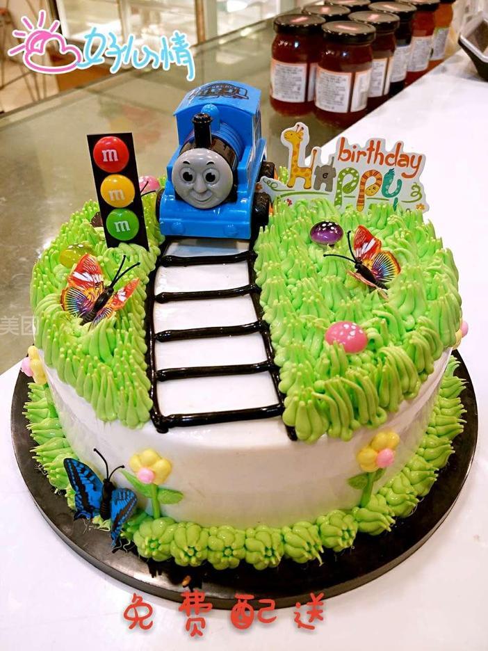 托马斯小火车蛋糕